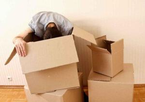 Se non organizzi bene il registro degli scatoloni poi sarà davvero difficile ritrovare le tue cose