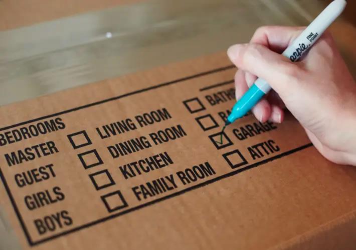 pacchi con lista di contenimento per una migliore gestione di imagazzinaggio